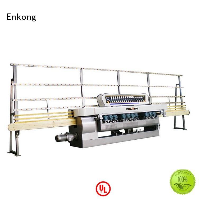 straight line glass glass beveling machine machine Enkong company