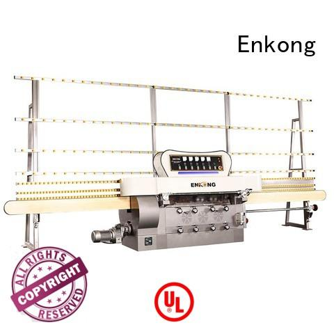 Enkong Brand machine straight-line glass pencil glass edge polishing