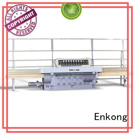 Enkong efficient glass edge polishing machine customized for fine grinding