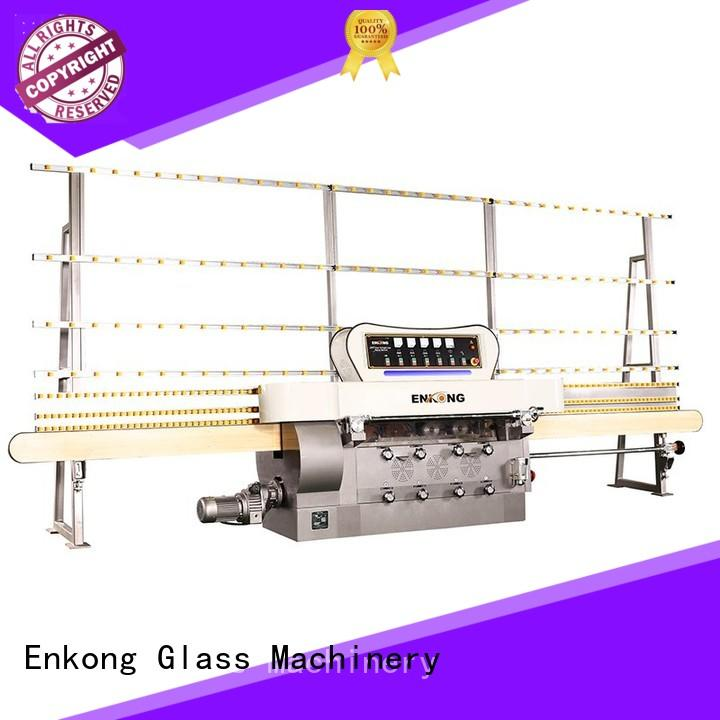 Enkong zm4y glass edge polishing machine supplier for fine grinding