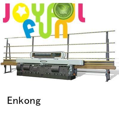 Enkong Brand machine straight-line pencil custom glass edge polishing machine for sale