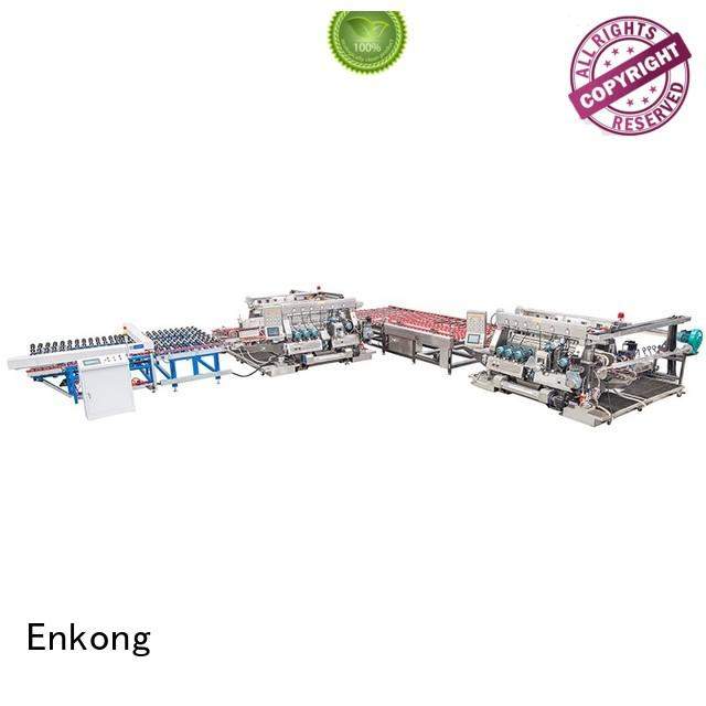 Enkong Brand edging straight-line glass double edger