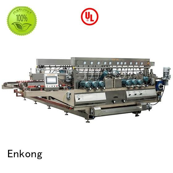 double straight-line double edger glass Enkong company