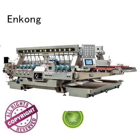 glass double edger line Enkong company