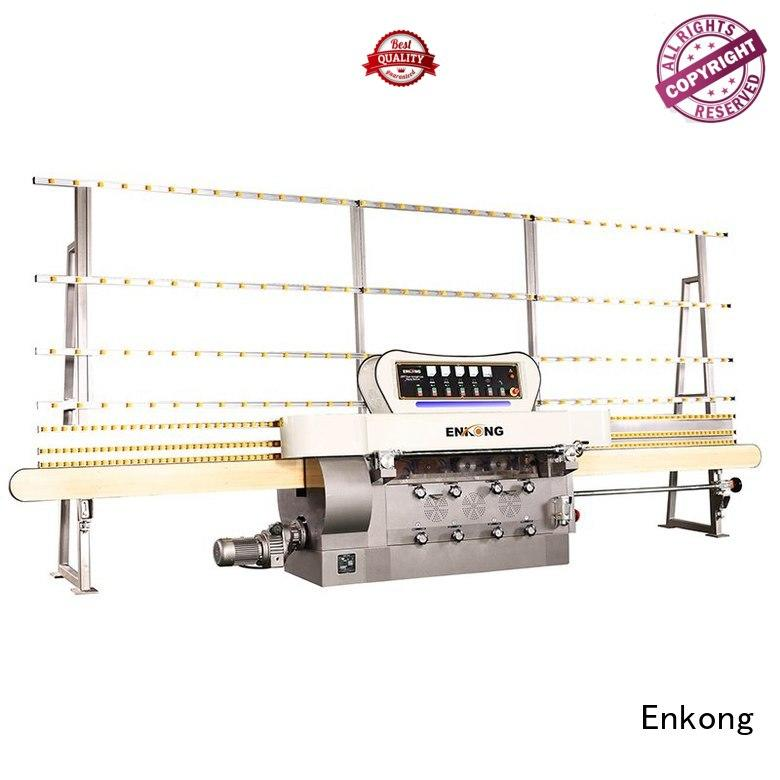 pencil straight-line glass edge polishing machine Enkong company