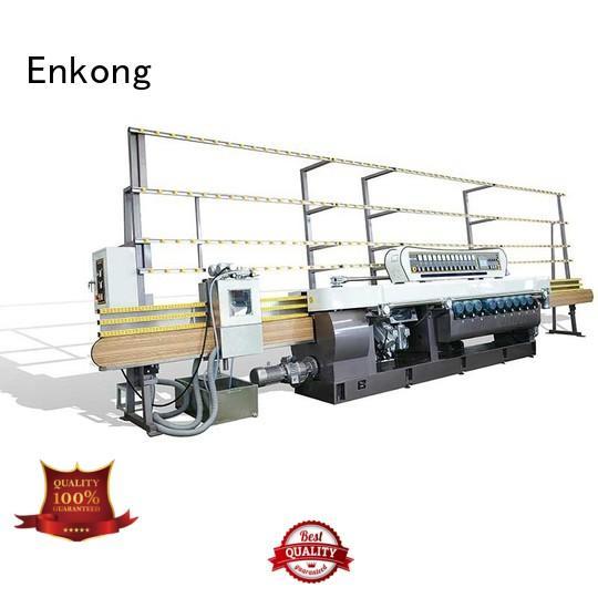 beveling straight line OEM glass beveling machine Enkong