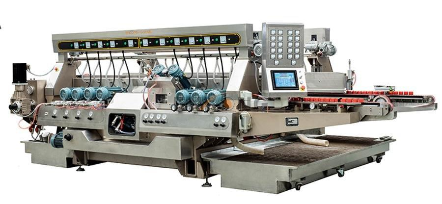 Enkong real double edger series for round edge processing-1
