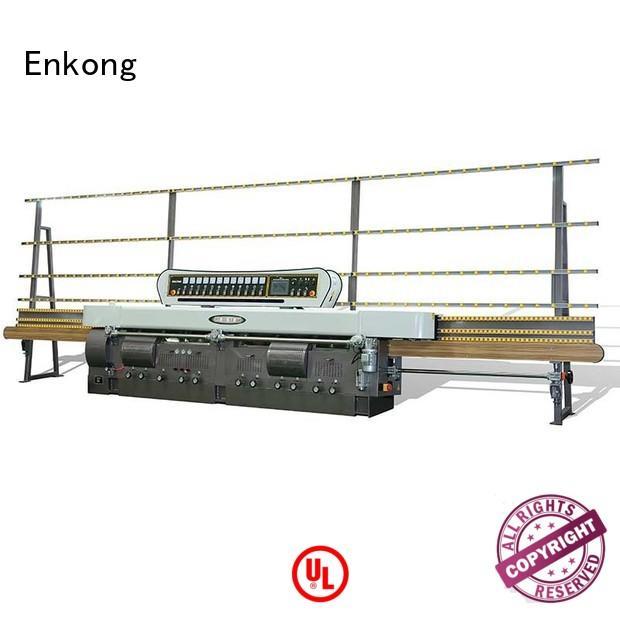 Enkong Brand machine straight-line glass glass edge polishing machine for sale