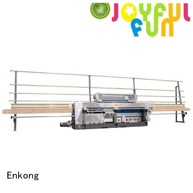 variable machine Enkong Brand glass mitering machine