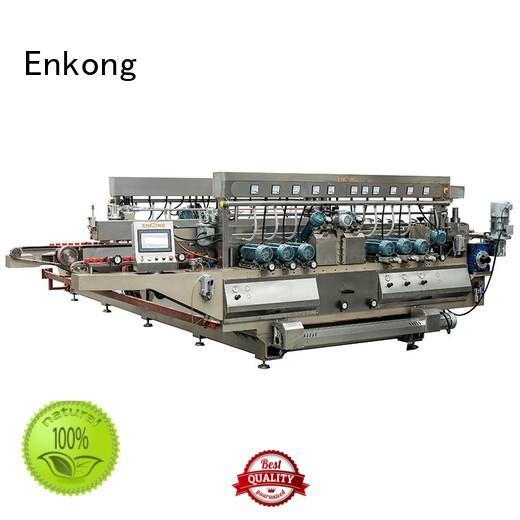 Enkong Brand production double edging glass double edger line