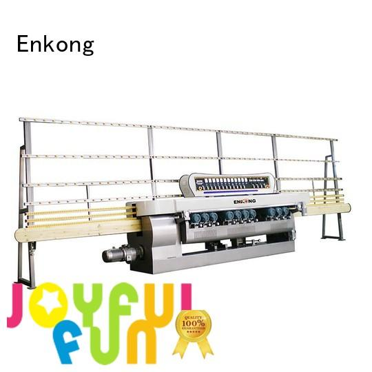 glass straight-line machine glass beveling machine Enkong Brand