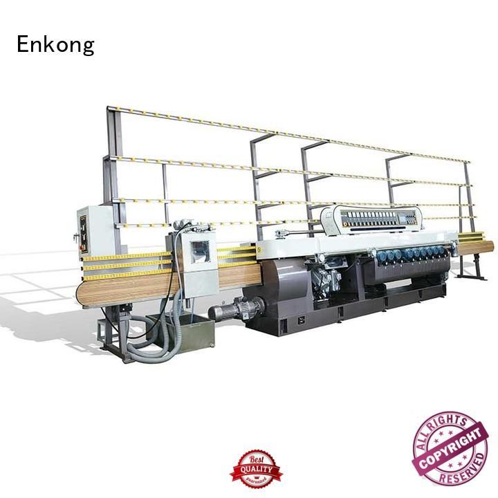 Custom straight-line glass glass beveling machine Enkong straight line