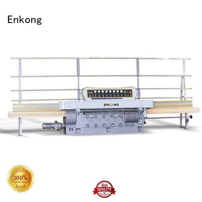 straight-line edging glass glass edge polishing machine for sale Enkong Brand