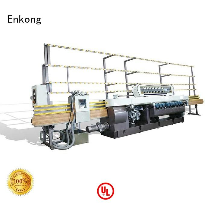 glass straight line straight-line Enkong Brand glass beveling equipment manufacture