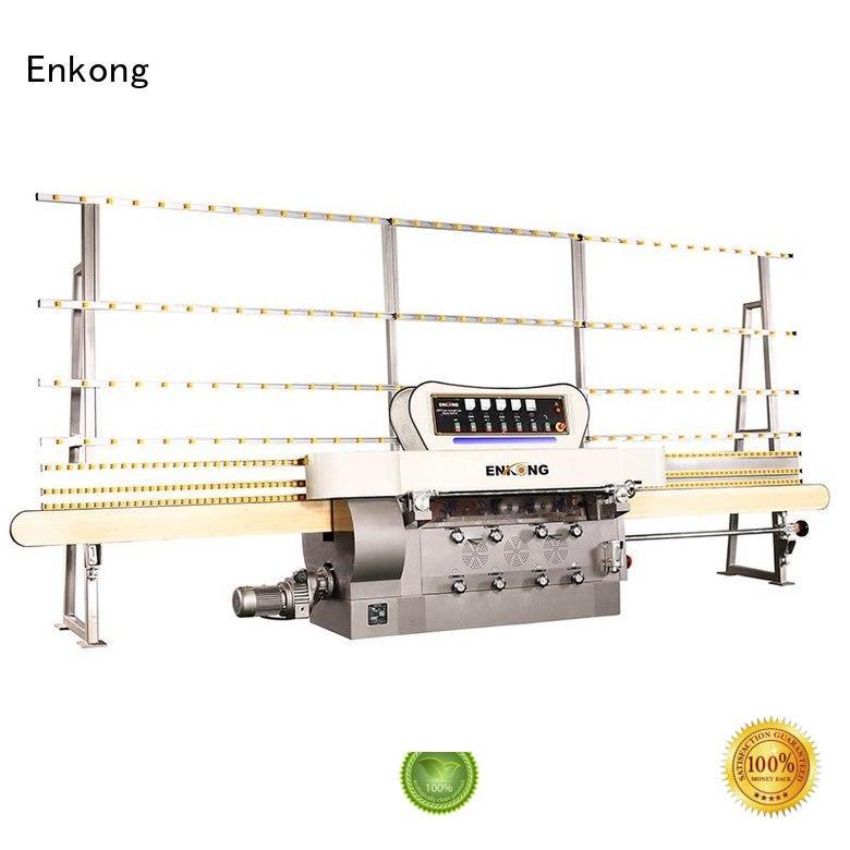 straight-line pencil machine glass edge polishing machine for sale Enkong Brand