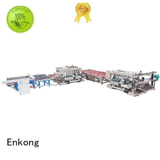 Enkong Brand glass double edger straight-line factory