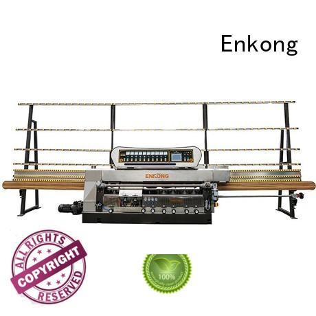 Enkong Brand straight-line edging glass edge polishing glass factory