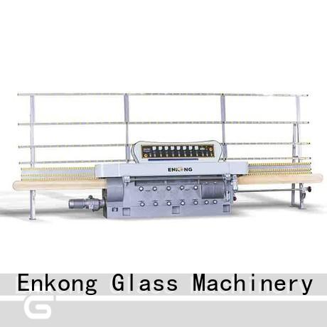 Enkong stable glass edging machine customized for polishing