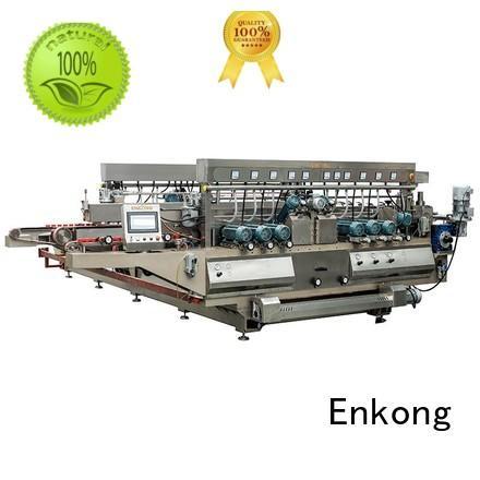 Hot machine glass double edger glass Enkong Brand