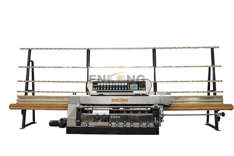 Enkong efficient glass edge polishing machine supplier for fine grinding-1