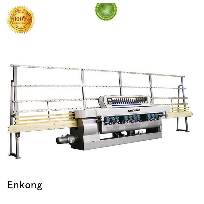 glass straight-line beveling Enkong Brand straight-line machine glass beveling equipment glass