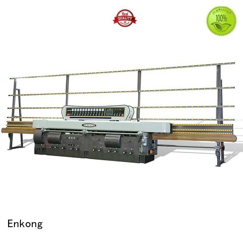 pencil glass edge polishing machine for sale straight-line machine Enkong Brand