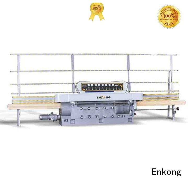 edging straight-line Enkong Brand glass edge polishing machine for sale factory