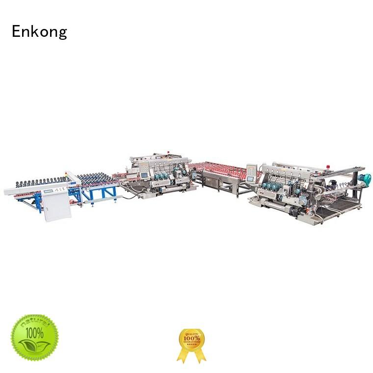 edging line production Enkong Brand glass double edger factory