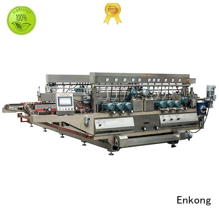 Wholesale double glass double edger round Enkong Brand