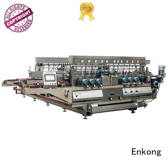 glass double edger edging straight-line Warranty Enkong