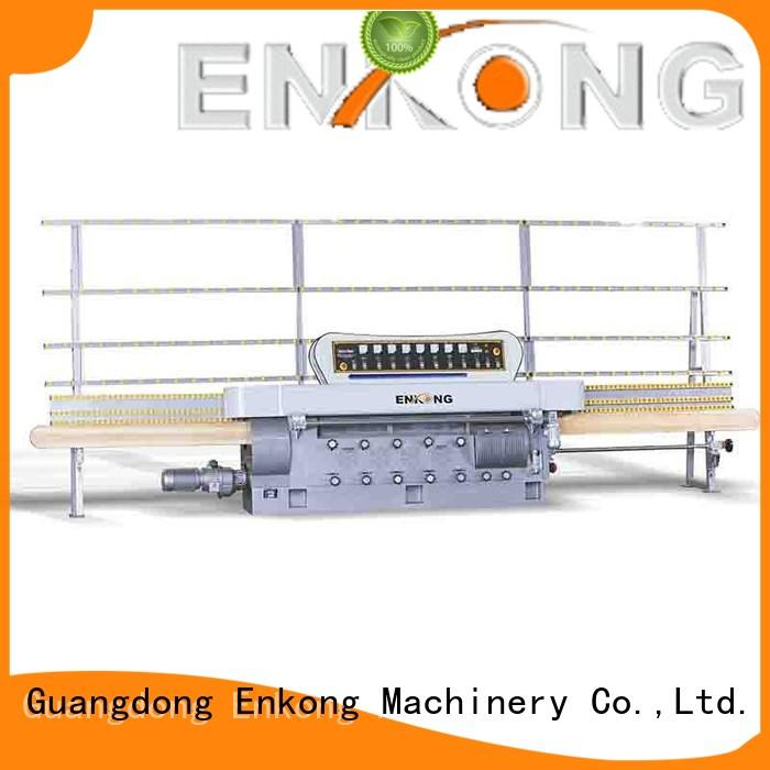 Enkong stable glass edging machine customized for fine grinding