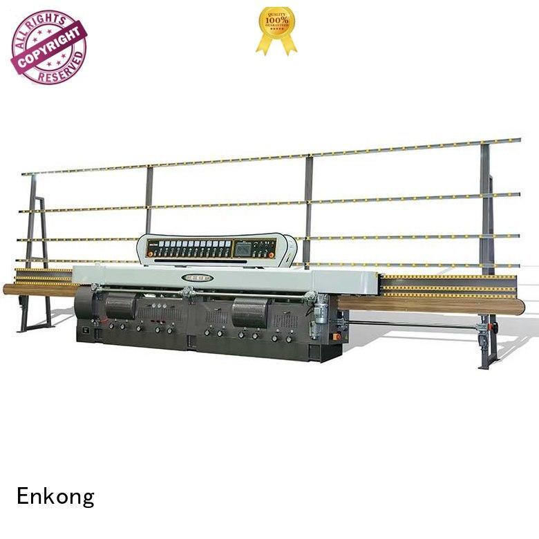 glass edge polishing machine for sale edging straight-line machine Enkong Brand