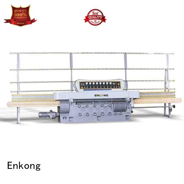 straight-line pencil Enkong Brand glass edge polishing machine for sale factory