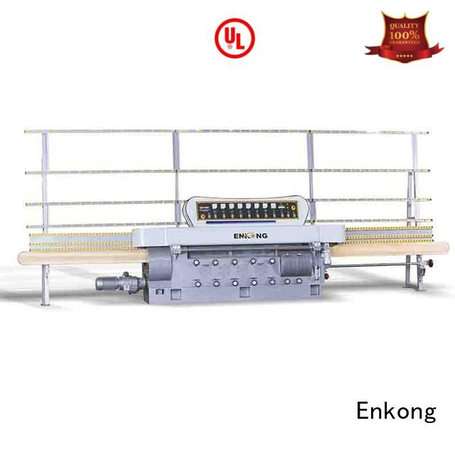 Enkong Brand pencil glass edge polishing straight-line factory