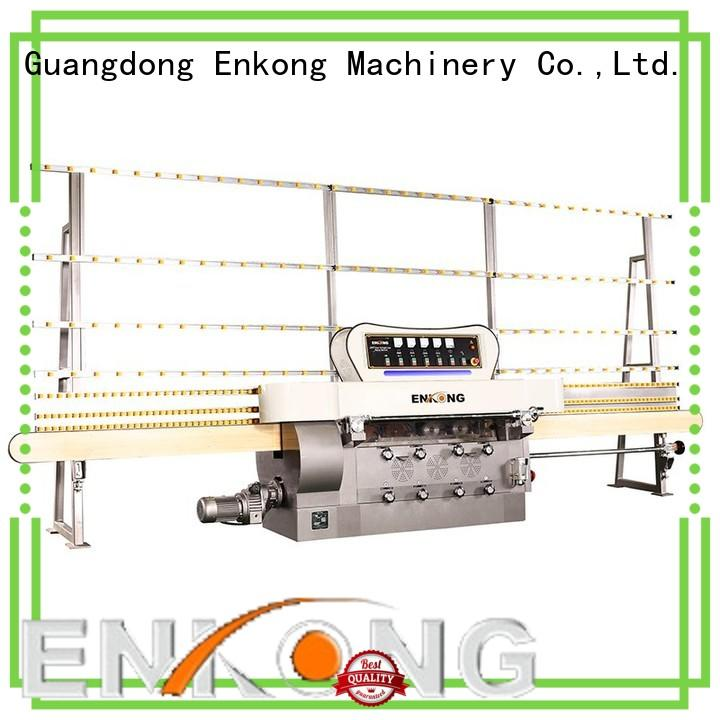 Enkong efficient glass edge grinding machine series for polishing