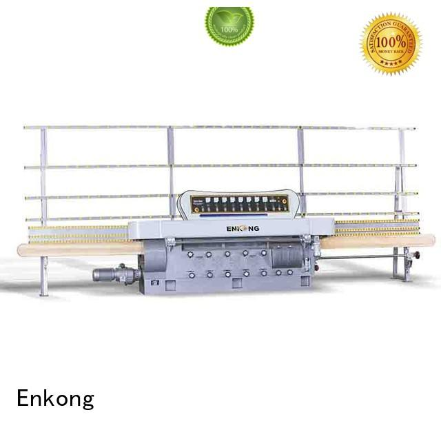 glass edge polishing machine for sale straight-line machine glass Enkong Brand company