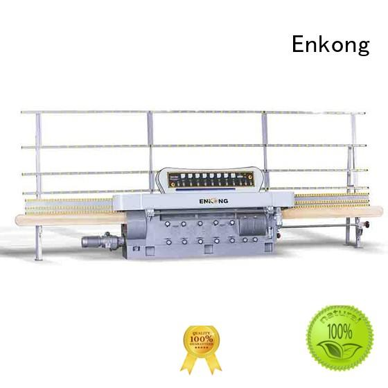 Enkong Brand edging glass edge polishing straight-line factory