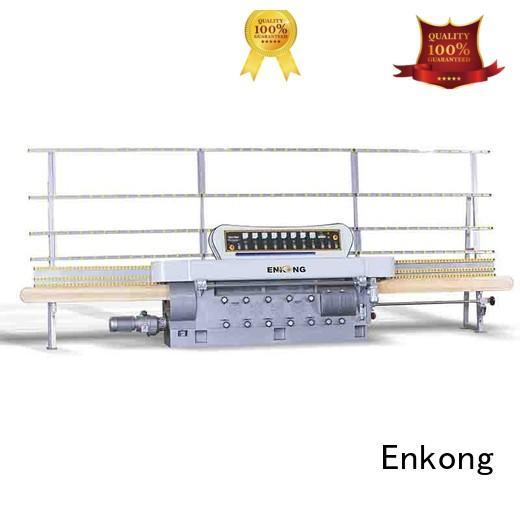 straight-line glass glass edge polishing machine for sale Enkong manufacture
