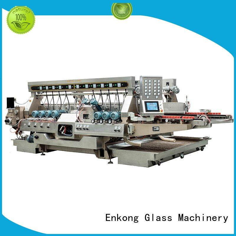 high speed glass double edger manufacturer for household appliances Enkong