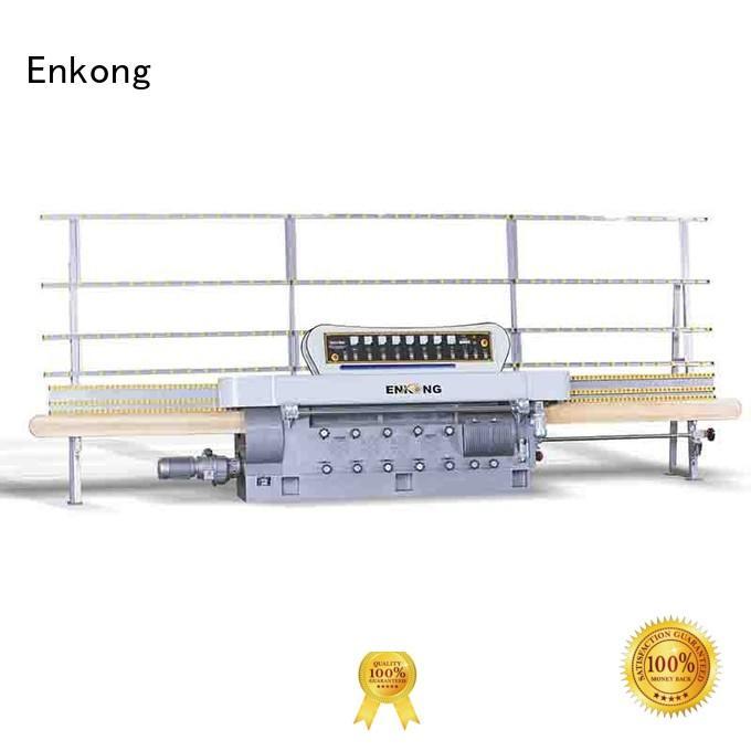 pencil straight-line machine OEM glass edge polishing Enkong straight-line glass