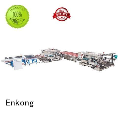 Enkong Brand round glass double edger production supplier
