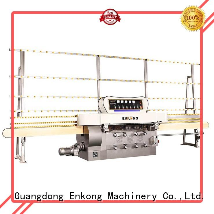 Enkong top quality glass edging machine customized for polishing