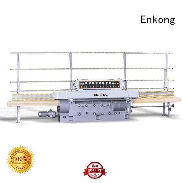Enkong Brand pencil glass edge polishing glass factory