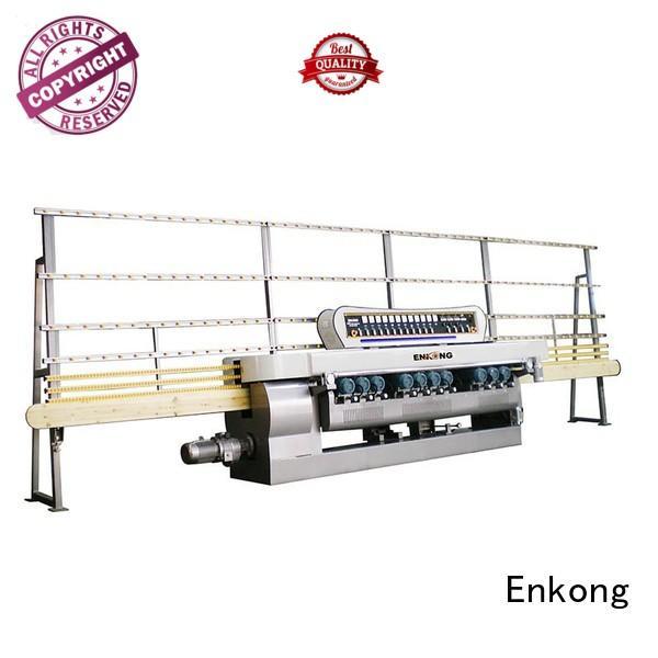 Enkong Brand machine beveling straight line straight-line glass beveling machine