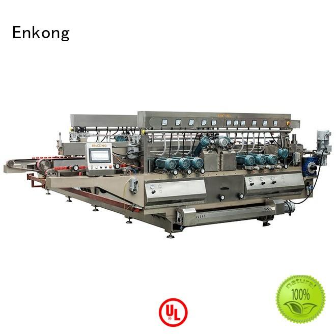 glass double edger machine line Enkong Brand company