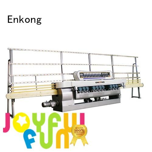 machine straight line glass glass beveling machine Enkong Brand
