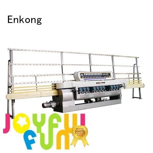 machine straight line glass glass beveling machine Enkong Brand