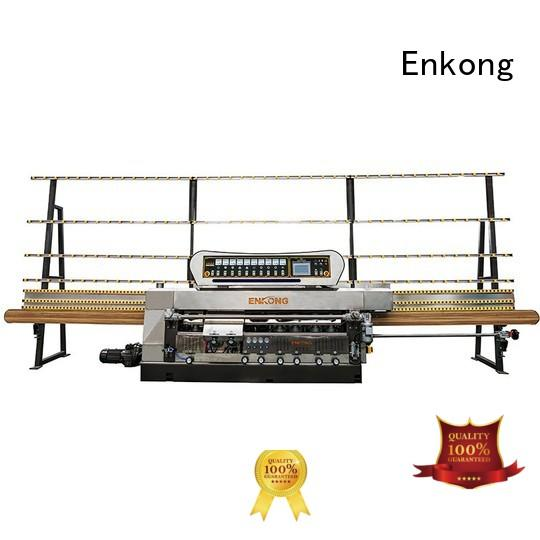 Enkong Brand pencil machine glass edge polishing straight-line factory