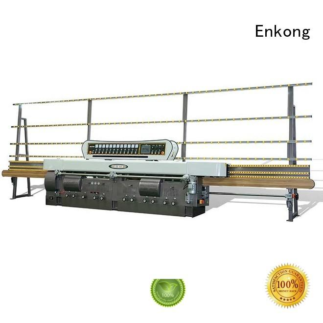 Enkong Brand machine glass straight-line glass edge polishing machine for sale pencil