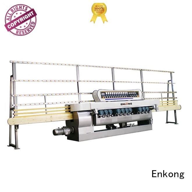 straight-line Custom machine straight line glass beveling machine Enkong glass